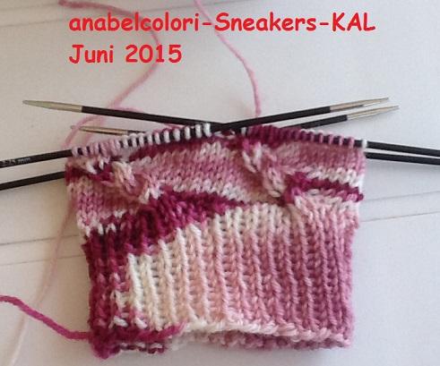 anabelcolori Sneakers KAL Juni 2015